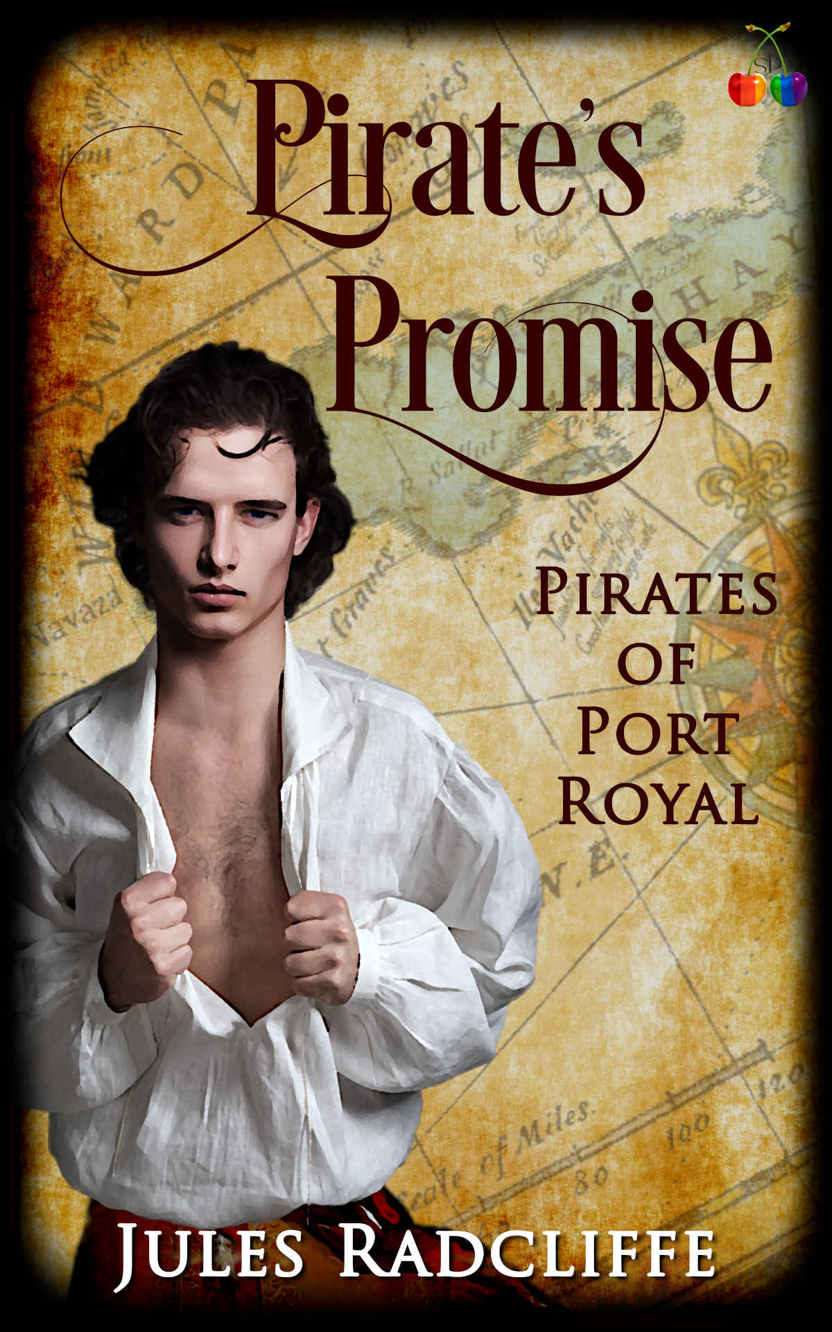 Cover of Pirates Promise by Jules Radcliffe