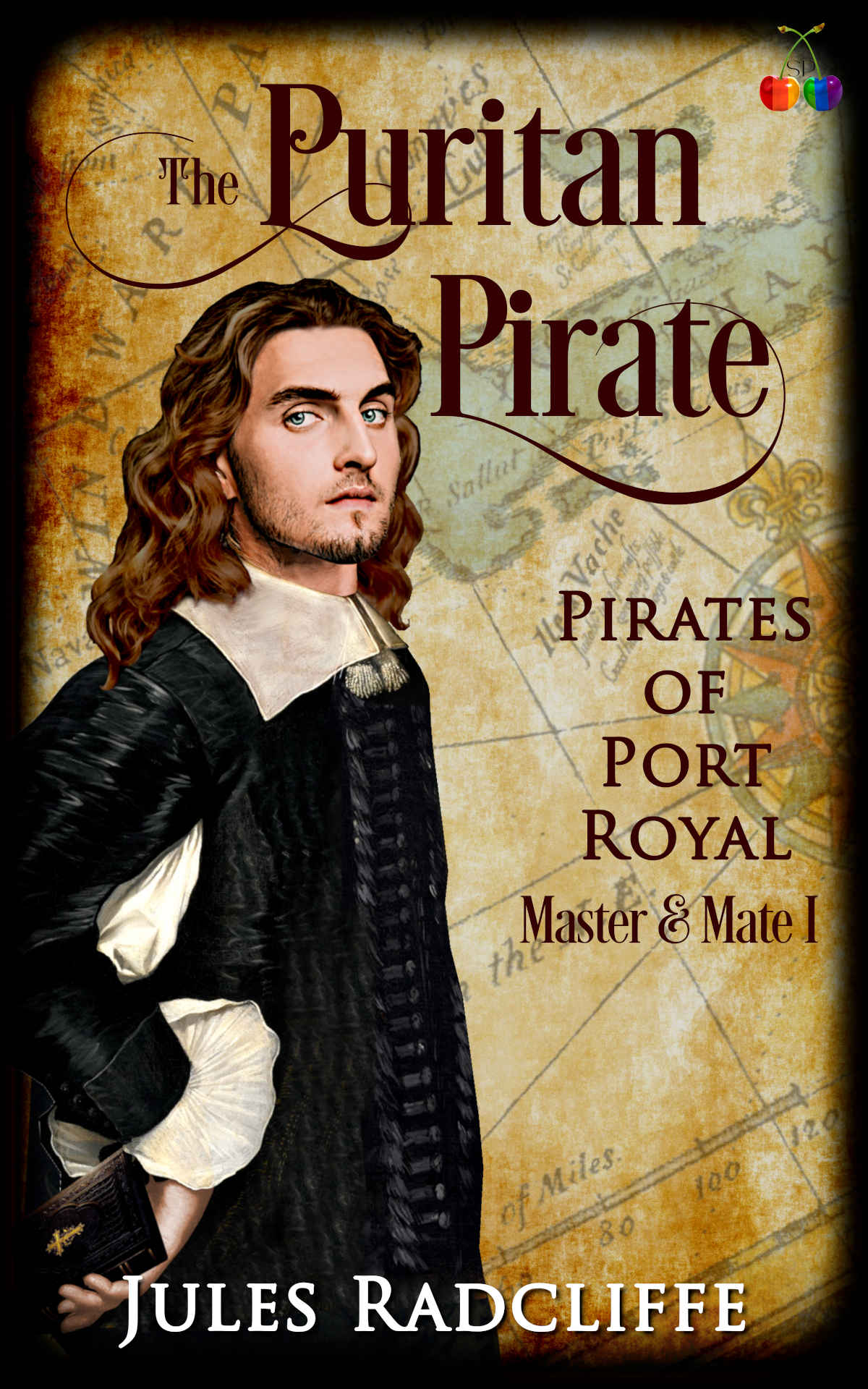 Cover of Puritan Pirate by Jules Radcliffe